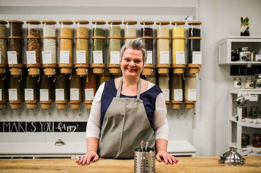 Unternehmerin und Geschäftsführerin in einem: Melanie Budee
