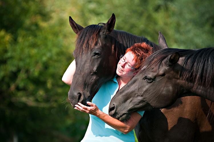 Tiere sind die passion von Christiane Becker