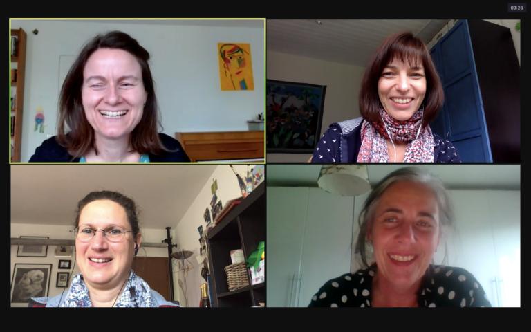 Online Mastermind Gruppentreffen funktioniert sehr gut